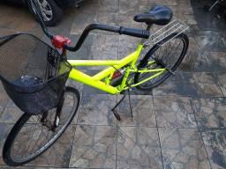 Bicicleta mola amortecedor aro 26 aero