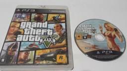 GTA V / gta 5 - original - playstation 3 ( perfeito funcionamento )