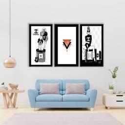 Quadros decorativos coleção Fashion