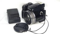 Câmera Máquina Semi-profissional Sony Cybershot Dsc H9 Leia