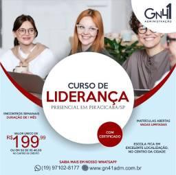 Curso de Liderança Presencial em Piracicaba/SP