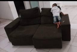 Sofa retratil 2 lugares