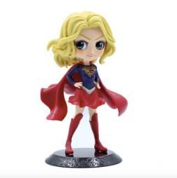 Boneca Dc Miniatura Super Girl Colecionável Figure 15 Cm