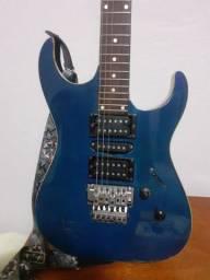 Guitarra 24 trastes captadores humbucker