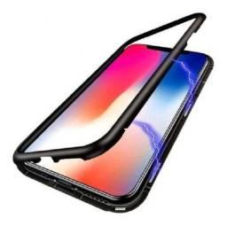 Capinha Magnetica iPhone XR-6.1 Vidro Frente E Verso