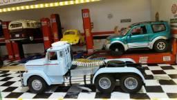 Miniatura Caminhão Cavalo Trucado Scania