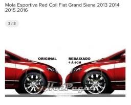 Mola esportiva FIAT GRAND SIENA COMPATÍVEL 2013 à 2016.