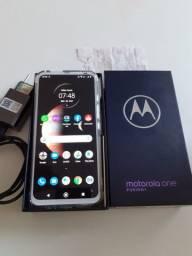 Motorola one fusion + 128gb lançamento