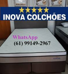 Cama Box + Colchão Super King Ilheus