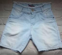 Bermuda jeans femina