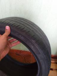 Troco 2 pneus 17 205/40 por 205/45