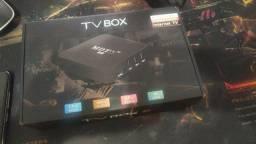 Tv box 4K Android 4gb de ram e 32gb memória