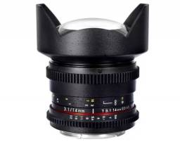 Lente Samyang 14 mm para Canon