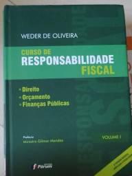 Curso de Responsabilidade Fiscal - Weber de Oliveira em excelente estado