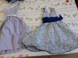 Lote de roupa menina 6 anos