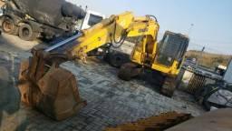 Escavadeira Pc 138 Hidráulica Komatsu
