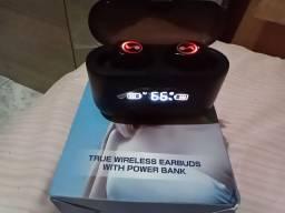 FONE BLUETOOTH TRUE WIRELESS EARBOUDS WINTH POWER BANK