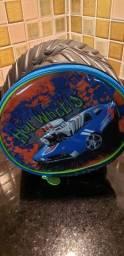 Lancheira mochila hotwheels