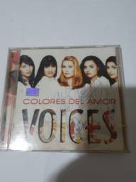 CD VOICES COLORES DEL AMOR AUTOGRAFADO