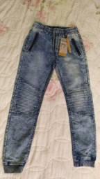 Calça jeans nova. Num 12