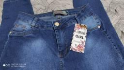 Calça Jeans Purpurina Girl