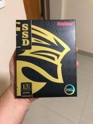 SSD 240 GB KingSpec novo, lacrado e com 3 meses de garantia
