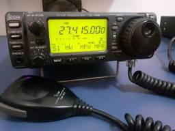 Rádio amador hf  icom 706 .px vhf hf