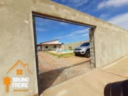 Casa c/ Piscina Toda estrutura para fazer outra em cima ! em Paracuru (não financia)