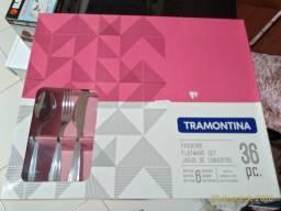 Faqueiro Tramontina 36 peças novo.