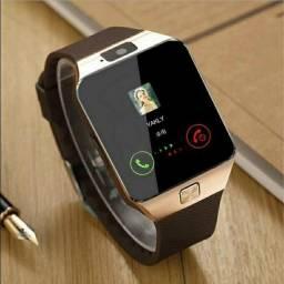 Relógio Inteligente Gsm Camera Tf Cartão De Telefone Relógio De Pulso Para Android