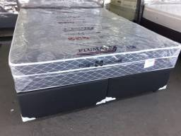 Cama Box Com Colchao Sonata Queen Size 158x198 A Pronta Entrega