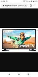 Vendo tv smart Samsung 32 Pol. Ou troco por Cel do meu interesse