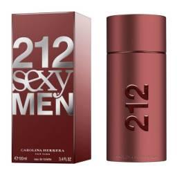 Perfume Caronlina 212 Sexy Men 100ml Original