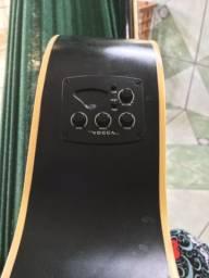 Violão vogga elétrico (só venda)