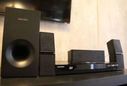 Home Theater Samsung Blu-ray - 5.1 canais