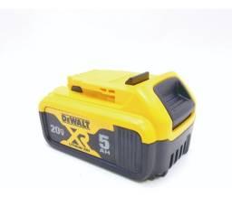 Bateria Ion Litio 20v 5 Ah Dewalt Dcb205 B3 Toda Linha 20v