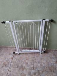 Portão para escada / criança / pet