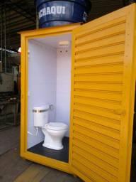 Banheiro unisex modular
