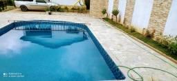 Chácara para ano novo com piscina a 100 mts do asfalto
