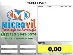 Sistema Automação PDV Caixa - Mercado - Padaria - Sacolão - Cupom Fiscal - NFCe - QR Code