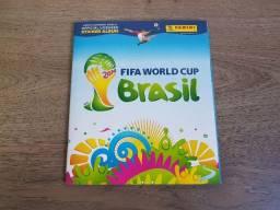 Álbum Da Copa 2014 Completo Com Kit De Atualização A Parte