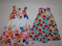 Kit - vestidos infantil TAM - 4