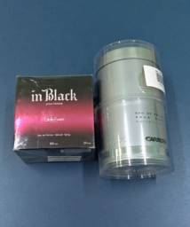 Perfumes In Black e Carrera Pour Homme