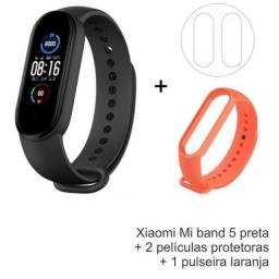 Smartwatch Xiaomi Mi Band 5 Global p/ português+ Pulseira extra - 100% Original