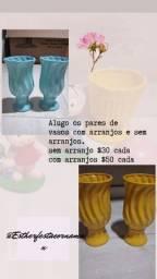 Aluguel de vasos