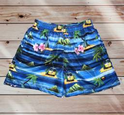 Shorts tactel/mauricinho