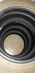 PNEUS 225/60 ARO 18 R$250,00 nos 4 pneus