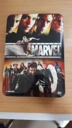 BOX DVD X-Men Quarteto Fantástico Coleção Marvel