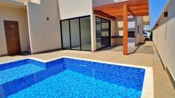 Casa 3 Suítes + Escritório, 210 m² c/ lazer no Condomínio Mirante do Lago