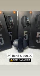 Mi Band 5 novo lacrado até 3 X cartão sem juros (Entregamos)